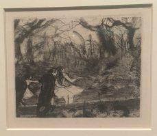 Sur la scène III. 1876-1877. Vernis mou, pointe sèche et roulette. San Francisco. The Fine Arts Museum