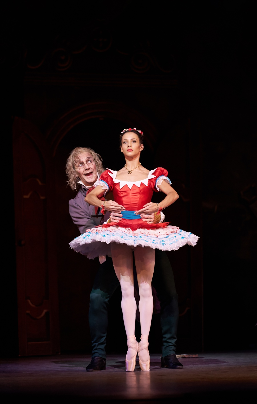 Francesca Hayward et Gary Avis, photo Bill Cooper courtesy of ROH