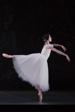 Julie Charlet (Giselle). Photographie David Herrero.