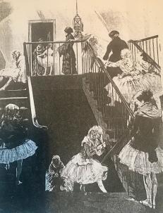 Renouard Paul : « Escalier des classes » (années 1880)