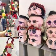 Masques et couvre-chefs